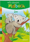 Cover-Bild zu Mein schönstes Malbuch. Zoo von Beurenmeister, Corina (Illustr.)