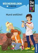 Cover-Bild zu Die drei !!!, Bücherhelden 2. Klasse, Hund entführt! von Ambach, Jule