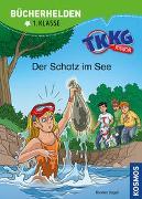 Cover-Bild zu TKKG Junior, Bücherhelden 1. Klasse, Der Schatz im See von Vogel, Kirsten