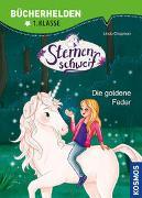 Cover-Bild zu Sternenschweif, Bücherhelden 1. Klasse, Die goldene Feder von Chapman, Linda
