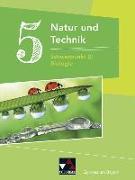 Cover-Bild zu Fleischmann, Michaela: Natur und Technik Gymnasium BY 5: Biologie