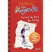 Journal d'un dégonflé 01. Carnet de bord de Greg Heffley von Kinney, Jeff