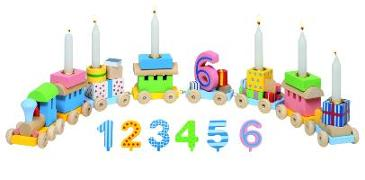 Cover-Bild zu Geburtstagszug, Lok mit 7 Anhängern