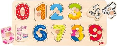 Cover-Bild zu Steckpuzzle Lerne zählen