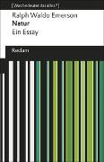 Cover-Bild zu Emerson, Ralph Waldo: Natur