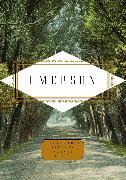Cover-Bild zu Emerson, Ralph Waldo: Emerson: Poems