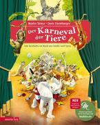 Der Karneval der Tiere (Das musikalische Bilderbuch mit CD) von Simsa, Marko