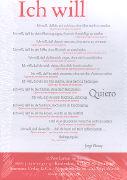 Postkarten Ich will von Bucay, Jorge