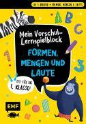 Cover-Bild zu Mein bunter Lernspielblock - Vorschule: Formen, Mengen und Laute von Thißen, Sandy (Illustr.)