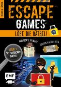 Cover-Bild zu Escape Games Level 1 (orange) - Löse die Rätsel! - 10 Escape Games ab der 3. Klasse von Quénée, Mathieu