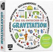 Cover-Bild zu Das XXL-Entdecker-Set - Gravitation: Mit genialer Kugelbahn zum Selberbauen, Sachbuch, Experimenten und spektakulären Effekten von Colson, Rob