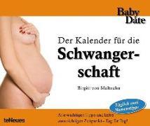 Cover-Bild zu Babydate - Schwangerschaft Kalender Immerwährender