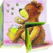 Cover-Bild zu Würfelpuzzle Tierkinder