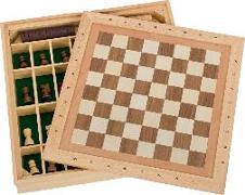 Cover-Bild zu Spiele-Set Schach-Dame-Mühle