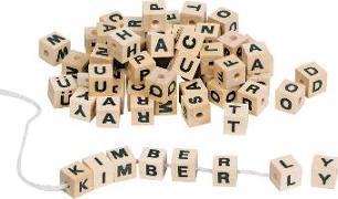 Cover-Bild zu Buchstabenwürfel