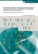 Cover-Bild zu Gehrig, Lucien: Einführung ins Recht - Management-Basiskompetenz