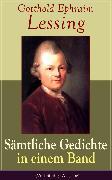 Cover-Bild zu Gesammelte Gedichte (eBook) von Lessing, Gotthold Ephraim
