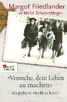 """Cover-Bild zu Friedlander, Margot: """"Versuche, dein Leben zu machen"""" (eBook)"""