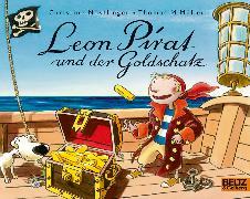 Cover-Bild zu Leon Pirat und der Goldschatz von Nöstlinger, Christine