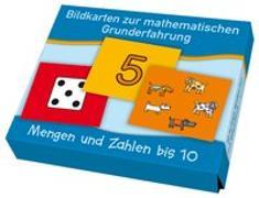 Cover-Bild zu Boretzki, Anja (Illustr.): Bildkarten zur mathematischen Grunderfahrung: Mengen und Zahlen bis 10