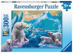 Cover-Bild zu Ravensburger Kinderpuzzle 12947 - Im Reich der Eisbären 300 Teile XXL - Puzzle für Kinder ab 9 Jahren