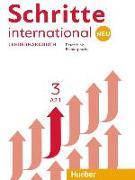Cover-Bild zu Schritte international Neu 3. Lehrerhandbuch von Kalender, Susanne