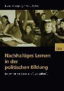 Cover-Bild zu Nachhaltiges Lernen in der politischen Bildung (eBook) von Moegling, Klaus