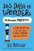 Cover-Bild zu 365 Days of Wonder: Mr. Browne's Precepts von Palacio, R. J.