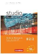 Cover-Bild zu Studio: Die Mittelstufe, Deutsch als Fremdsprache, B2: Band 2, Kurs- und Übungsbuch, Mit Lerner-Audio-CDs mit Hörtexten des Übungsteils von Kuhn, Christina