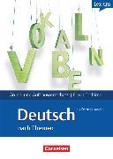 Cover-Bild zu Lextra - Deutsch als Fremdsprache, Grund- und Aufbauwortschatz nach Themen, A1-B2, Lernwörterbuch Grund- und Aufbauwortschatz, Mit englischer Übersetzung von Tschirner, Erwin