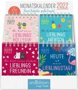 Cover-Bild zu Display Minikalender 2022. Mit 4 x 5 Ex