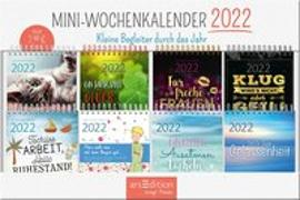 Cover-Bild zu Display Miniwochenkalender 2022.Mit 8 x 5 Ex