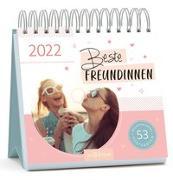 Cover-Bild zu Postkartenkalender Beste Freundinnen 2022 - Wochenkalender mit abtrennbaren Postkarten