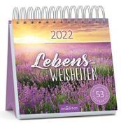 Cover-Bild zu Postkartenkalender Lebensweisheiten 2022