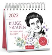 Cover-Bild zu Postkartenkalender Kluge Frauen 2022