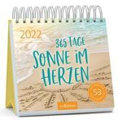 Cover-Bild zu Postkartenkalender 365 Tage Sonne im Herzen 2022