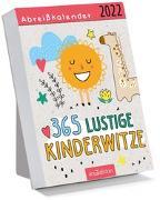 Cover-Bild zu Abreißkalender 365 lustige Kinderwitze 2022