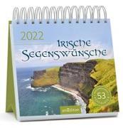 Cover-Bild zu Postkartenkalender Irische Segenswünsche 2022