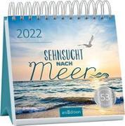 Cover-Bild zu Postkartenkalender Sehnsucht nach Meer 2022
