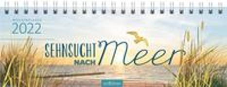 Cover-Bild zu Tischkalender Sehnsucht nach Meer 2022
