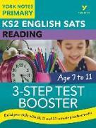 Cover-Bild zu English SATs 3-Step Test Booster Reading: York Notes for KS2 von Cowper, Anna