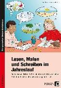 Cover-Bild zu Lesen, Malen und Schreiben im Jahreslauf von Holzer, Birgit