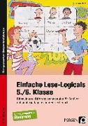 Cover-Bild zu Einfache Lese-Logicals - 5./6. Klasse von Rosendahl, Julia