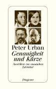 Cover-Bild zu Urban, Peter: Genauigkeit und Kürze