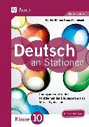 Cover-Bild zu Deutsch an Stationen 10 Gymnasium von Büttner, Patrick