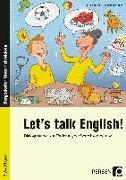 Cover-Bild zu Let's talk English! von Büttner, Patrick