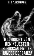 Cover-Bild zu Hoffmann, E. T. A.: Nachricht von den neuesten Schicksalen des Hundes Berganza (eBook)