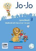 Cover-Bild zu Jo-Jo Sprachbuch, Allgemeine Ausgabe - Neubearbeitung 2016, 3. Schuljahr, Arbeitsheft, Mit interaktiven Übungen auf scook.de und CD-ROM von Brunold, Frido
