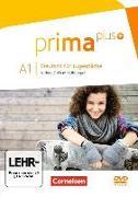 Cover-Bild zu Prima plus, Deutsch für Jugendliche, Allgemeine Ausgabe, A1: zu Band 1 und 2, Video-DVD