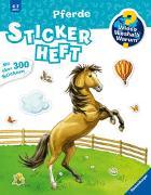 Cover-Bild zu Simon, Ute (Illustr.): Wieso? Weshalb? Warum? Stickerheft: Pferde